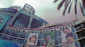 NAMM at the Anaheim Convention Center