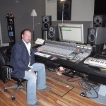 David Mobley in the Studio
